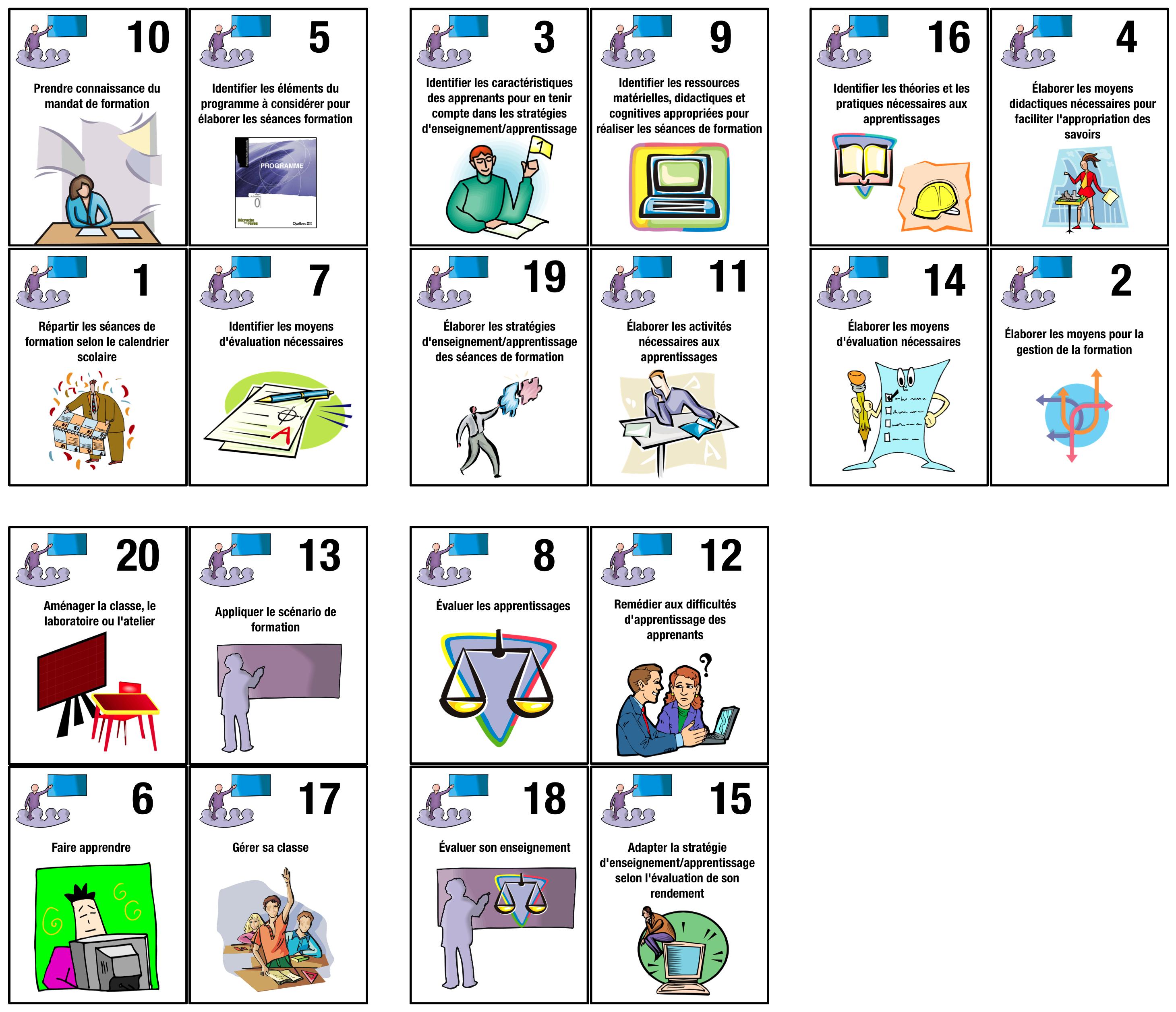 un petit jeu pour comprendre les t u00e2ches d u2019un enseignant