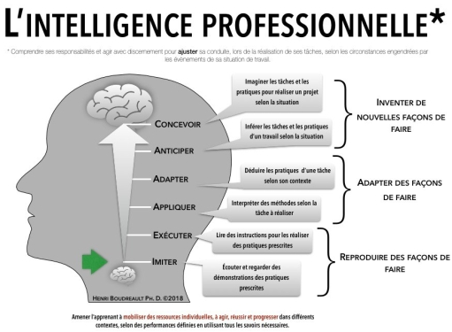 Intelligence professionnelle - HB 2018