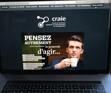 Nouveau site du CRAIE